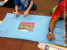 Adverbs can be such a difficult concept for kids to grasp. Visuals such as anchor charts or posters can be a great help. Come see a fun activity my class uses to learn about and review adverbs.