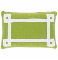 BNWT Happy Chic by Jonathan Adler Green Set of 2 Charlotte Oblong Pillow Covers | eBay