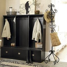 Coat Cubby. Need this by my front door. With 4 kids it can become a mess.