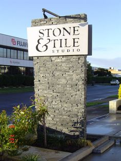 stone pylon - Google Search