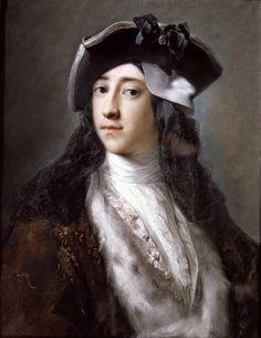 Rosalba Carriera. Portrait of Gustavus Hamilton, 2nd Viscount Boyne, 1731