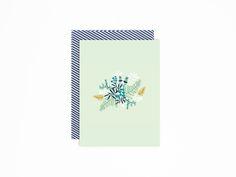 Postcard handpainted Wild Flowers | Mino Paper Sweets