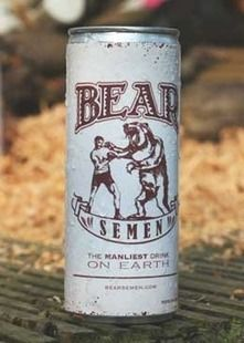 Bear Semen: The Manliest Drink on Earth. SERIOUSLY?