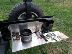 Outback Trailgator Tailgate Table - Expedition Portal