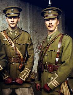 Tom Hiddleston & Benedict Cumberbatch -- War Horse