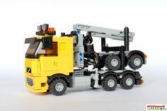 Lego Truck, Truck Transport, Lego City, Legos, Volvo, Trucks, Lego Vehicles, Warehouse, Games