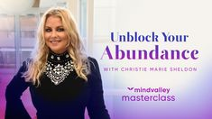 Unblock Your Abundance With Christie Marie Sheldon - Mindvalley Masterclass Trailer Christie Marie Sheldon, Tarot Card Meanings, Spiritual Wellness, Names With Meaning, Psychology Facts, Book Of Life, Master Class, Law Of Attraction, Abundance