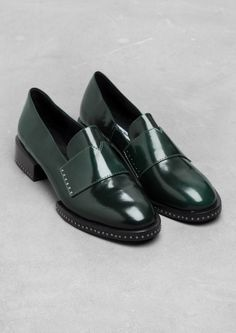 & Other Stories | Stud Leather Loafers