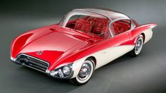 Our Dreams: Yesterday's futuristic concept cars still charm Concept cars of the past 1956 Buick Centurion cars of the past 1956 Buick Centurion 2 Chevrolet Corvette Stingray, Chevrolet Bel Air, Weird Cars, Cool Cars, Buick Centurion, 1956 Buick, Buick Cars, Unique Cars, Us Cars