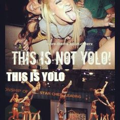 #cheerleading #cheer #yolo