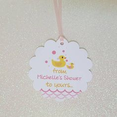 Check out this item in my Etsy shop https://www.etsy.com/listing/525160543/yellow-rubber-duck-baby-shower-favor