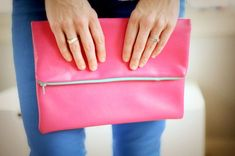 24 Chic DIY Clutches via Brit + Co.