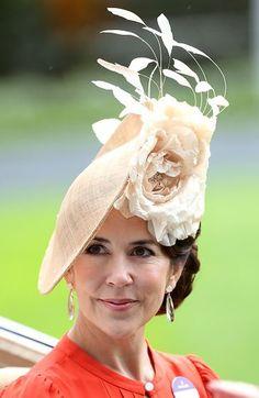Crown Princess Mary, June 15, 2016 in Jane Taylor | Royal Hats