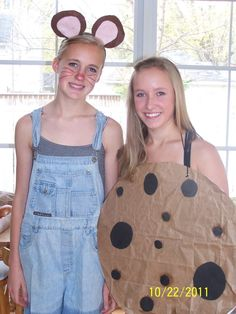 If You Give a Mouse a Cookie Costume Idea. Anyone want to do this for our dress up day?
