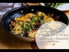 Pollo con Champiñones | Chokolat Pimienta