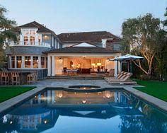 Home Decor Traditional Pool. プールのインテリアコーディネイト実例