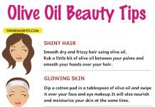 10 Amazing Beauty Tips using Olive Oil
