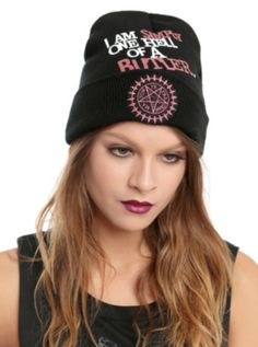 Black Butler One Hell Of A Butler Watchman Beanie