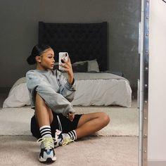 jennahouuu I feel like I Girlie style # feel Chill Outfits Feel Girlie jennahouuu Style Cute Swag Outfits, Chill Outfits, Dope Outfits, Trendy Outfits, Summer Outfits, Fashion Outfits, Baddies Outfits, Flannel Outfits, Black Girl Fashion