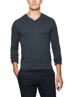 Cotton and Cashmere V-Neck by Theory on Gilt.com