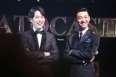 Banghim Looking all handsome in suits <3