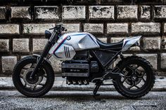 "Bmw K100 Street Tracker ""SILVER GILLS"" by Shaka Garage #motorcycles #streettracker #motos 