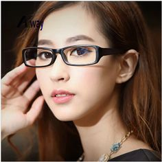 bf7c199cd48 New Fashion Men Women Square Eye Glasses Frames Unisex Optical Print  Glasses PC Computer Radiation in Colors-in Eyewear Frames from Men s  Clothing ...