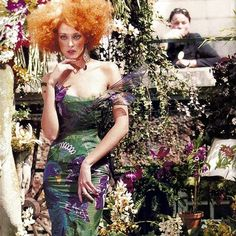1997-98 - John Galliano for Dior Couture show - Chrystele St Louis