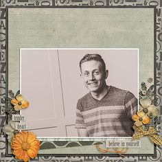 Believe in YourselfJames Patrick kit by Etc By Danyale Unwind Dressed Up Templates by Fiddle Dee Dee Designs