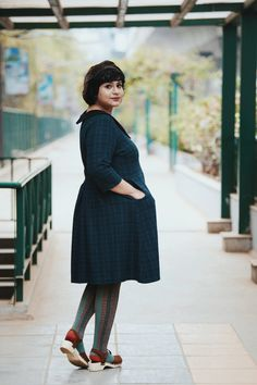 A Curious Fancy / plus size vintage style south Asian fat