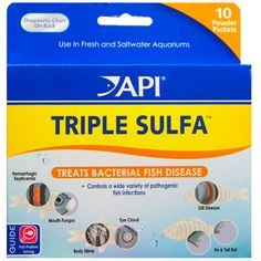 Anti-bacterial medication- Controls a wide range of pathogenic bacterial infections * Hemorrhagic Septicemia * Mouth Fungus * Body Slime & Eye Cloud * Bacterial Gill disease * Fin & Tail rot  http://www.americanaquariumproducts.com/pimafix.html#sulfa