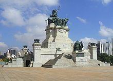 IPIRANGA - MONUMENTO á INDEPENDÊNCIA, no Parque da Independência, o local onde foi proclamada a independência do Brasil.