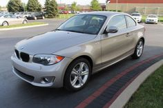 2013 Bmw 1Series 128i 128i 2dr Coupe Coupe 2 Doors Silver for sale in Schererville, IN Source: http://www.usedcarsgroup.com/used-bmw-for-sale-in-schererville-in