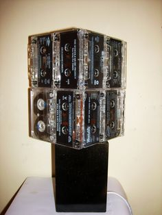 How To   Cassette Tape Lamp #howto #tutorial