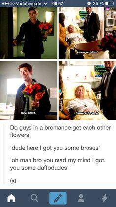 Bromance Barry Allen Eddie Thawne Tumblr