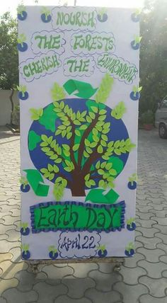 Earth Day Activities For Kids Art Projects Bulletin Boards Bulletin Board Design, Art Bulletin Boards, Teachers Day Drawing, Class Board Decoration, Earth Day Posters, Earth Day Crafts, Earth Day Activities, Cosmos, School Displays