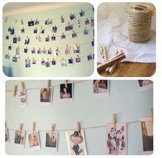 Hanging Photo Line