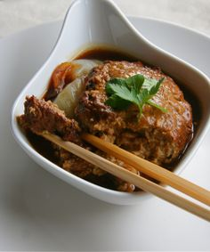 One of my favorite Chinese dishes: Lions Head Meatballs! These are delicious with a steaming bowl of white rice.