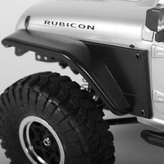 CKRC Hobbies has Z-S1156, RC4WD Aluminum Tube Front Fender with Body Panel for Axial Jeep Rubicon (Black) Specifications: CNC Machined Aluminum Anodized Black F