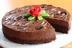 Norwegian Food, Norwegian Recipes, Pudding Desserts, No Bake Cake, Mousse, Nom Nom, Cake Recipes, Sweets, Baking