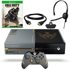 This call of duty limited edition makes your xbox one look more like its from out of the game it self. Now with a 1T HDD and advanced warfare game for $599,99! Buy him now on SibirExpress!