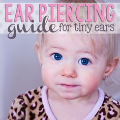Daily Mom » Ear Piercing Guide for Tiny Ears
