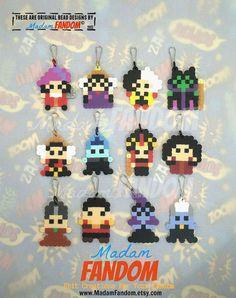 Party Favors Set of 12 Disney Villains Party por MadamFANDOM