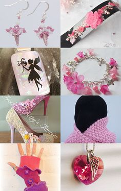 Pretty in pink by KTJewelleryCreations on Etsy--Pinned with TreasuryPin.com