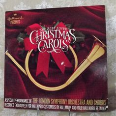 The Best Loved Christmas Carols from Hallmark by the London Symphony Orchestra and Chorus Vintage 1985 Silent Night First Noel and Many More by SodaCityFinds on Etsy