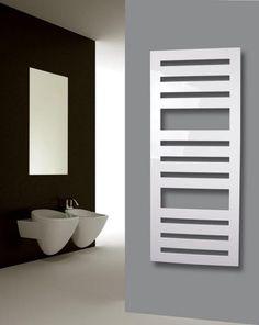 Badheizkörper Design Zebra 2, 144x60 Cm, 911 Watt, Weiß (Heizkörper Heizung)