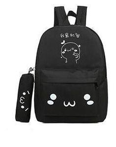 81bd660a9439 emoji bag school backpack youth kawaii printing backpack school bag cute  emoji backpack emotion for teenagers. Cute BackpacksSchool ...