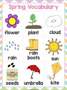 Spring Thematic Unit & Lesson Plans for PreK, Bilingual Spanish - Primavera