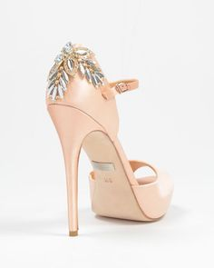 Nessa Decorated Ankle Strap Pump