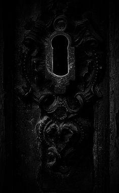 Dark Morbid Keyhole